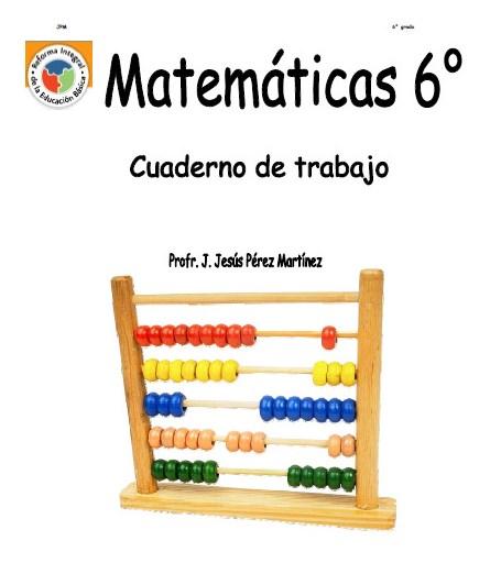 Cuaderno de trabajo de Matemáticas de 6° de primaria | Educación ...