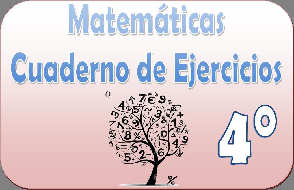 Matemáticas – Cuaderno de ejercicios para cuarto grado | Educación ...
