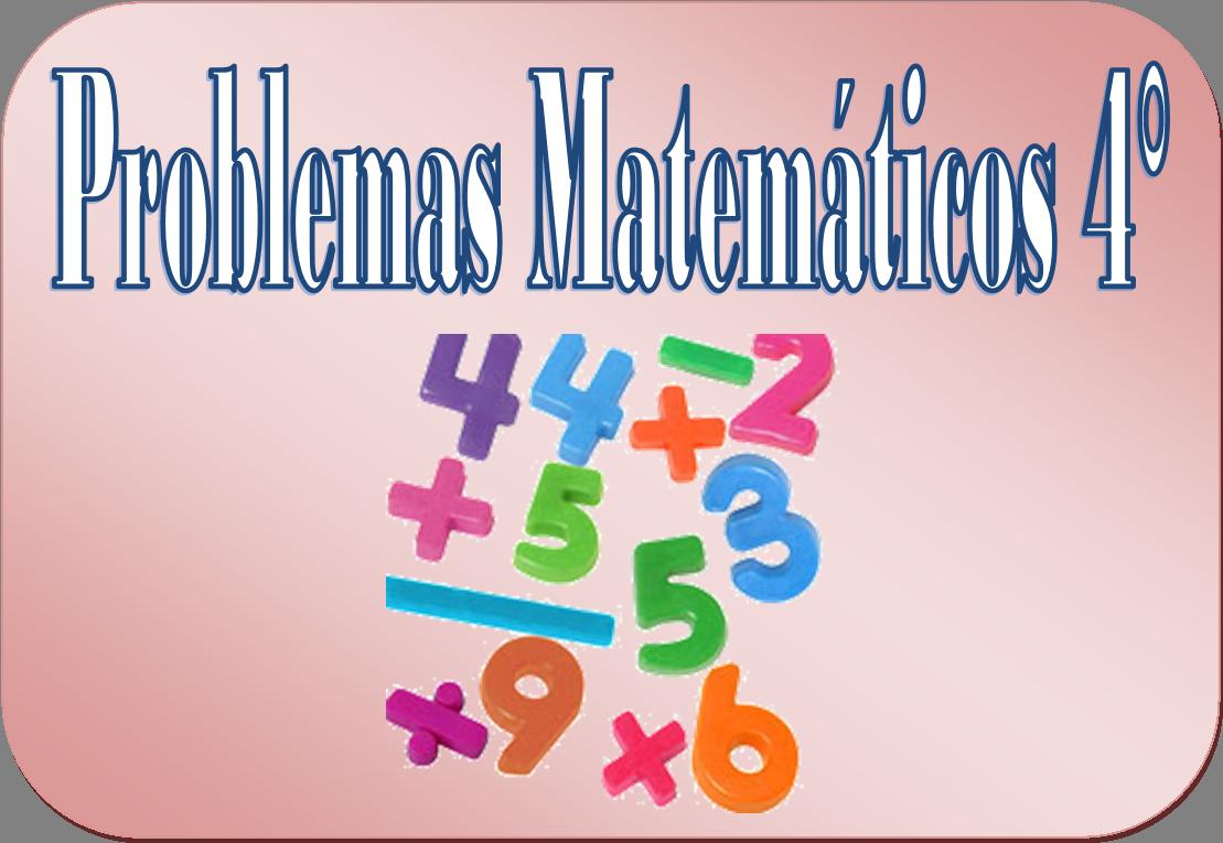 Problemas matemáticos para cuarto grado de primaria ...
