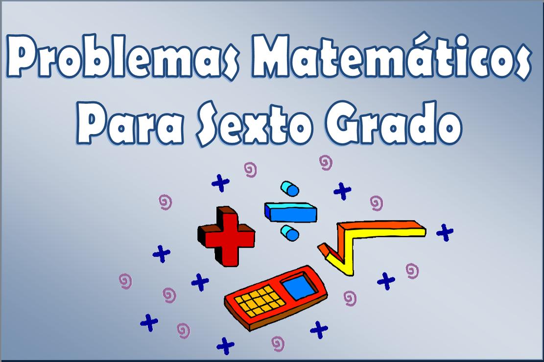 libro de matematicas de sexto grado de primaria: