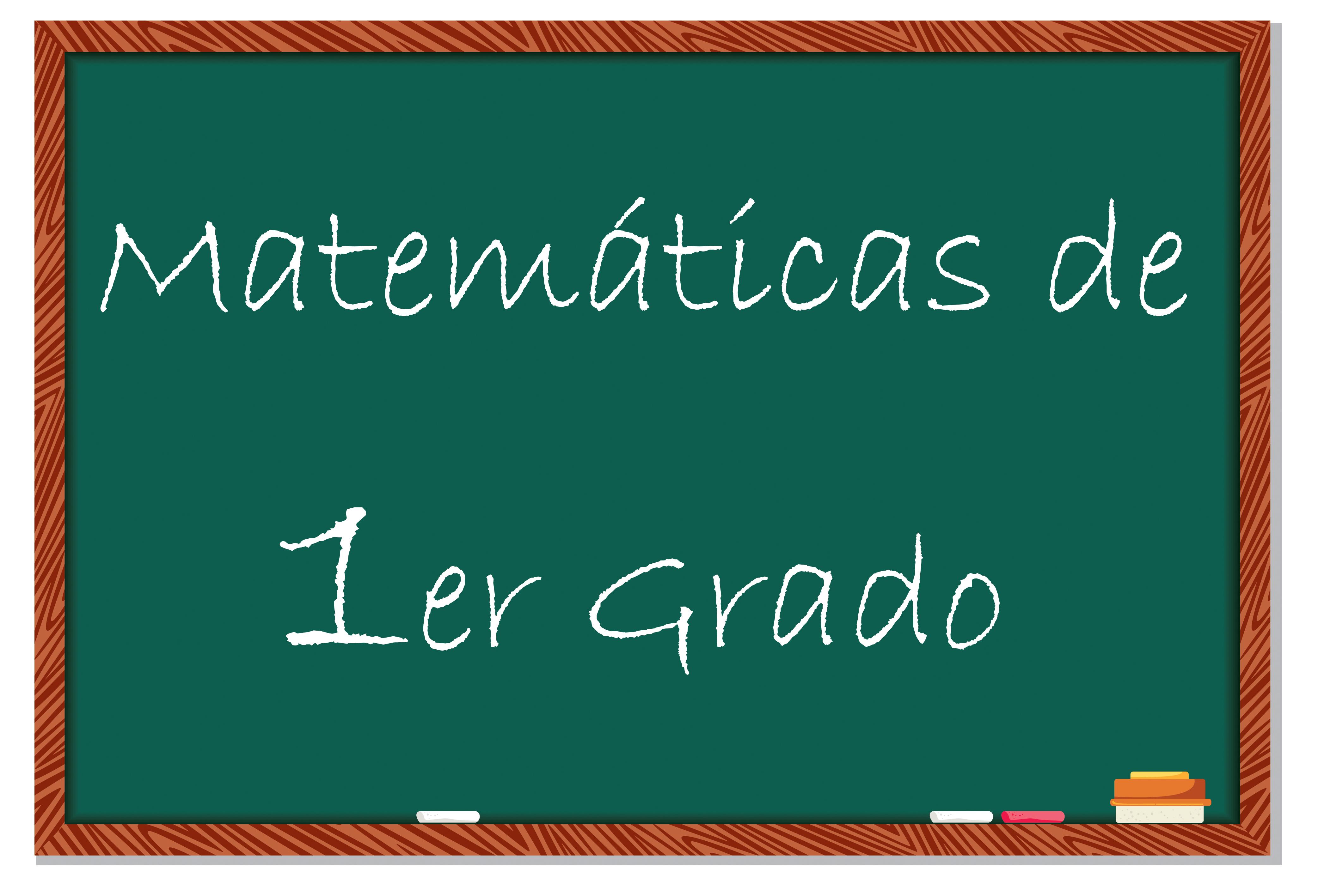 de ejercicios matemáticos para primer grado  Educación Primaria
