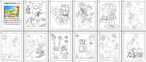 Colección De Dibujos Para Unir Del 1 Al 100 Educación Primaria