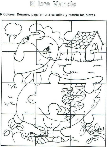 Colecci n de rompecabezas para preescolar y primaria for Grado medio jardin de infancia