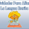 Actividades para afianzar la lengua escrita de 3° a 6°