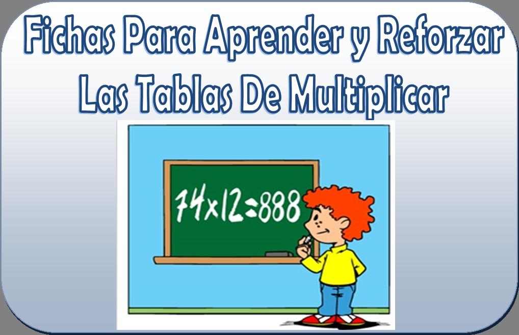 Fichas para aprender y reforzar las tablas de multiplicar para 2° a ...