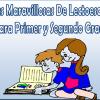 Fichas maravillosas de lectoescritura primer y segundo grado