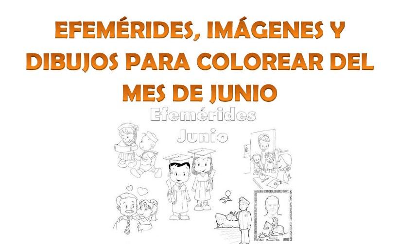 Efemérides Dibujos E Imágenes Del Mes De Junio Educación