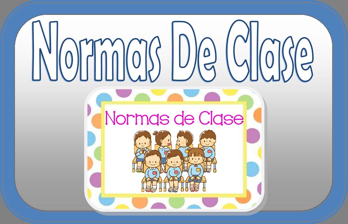 Normas de clase para imprimir educaci n primaria for Actividades para el salon de clases