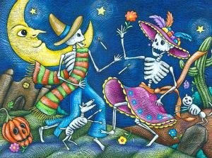 Dibujos De Día De Muertos Para Utilizarlos En Clase Educación Primaria