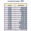 Calendario de pago nominal 2015