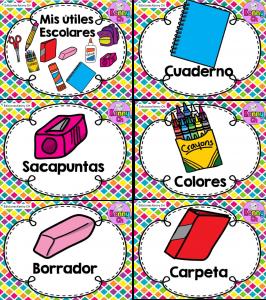Fabulosos Diseños De útiles Escolares Educación Primaria