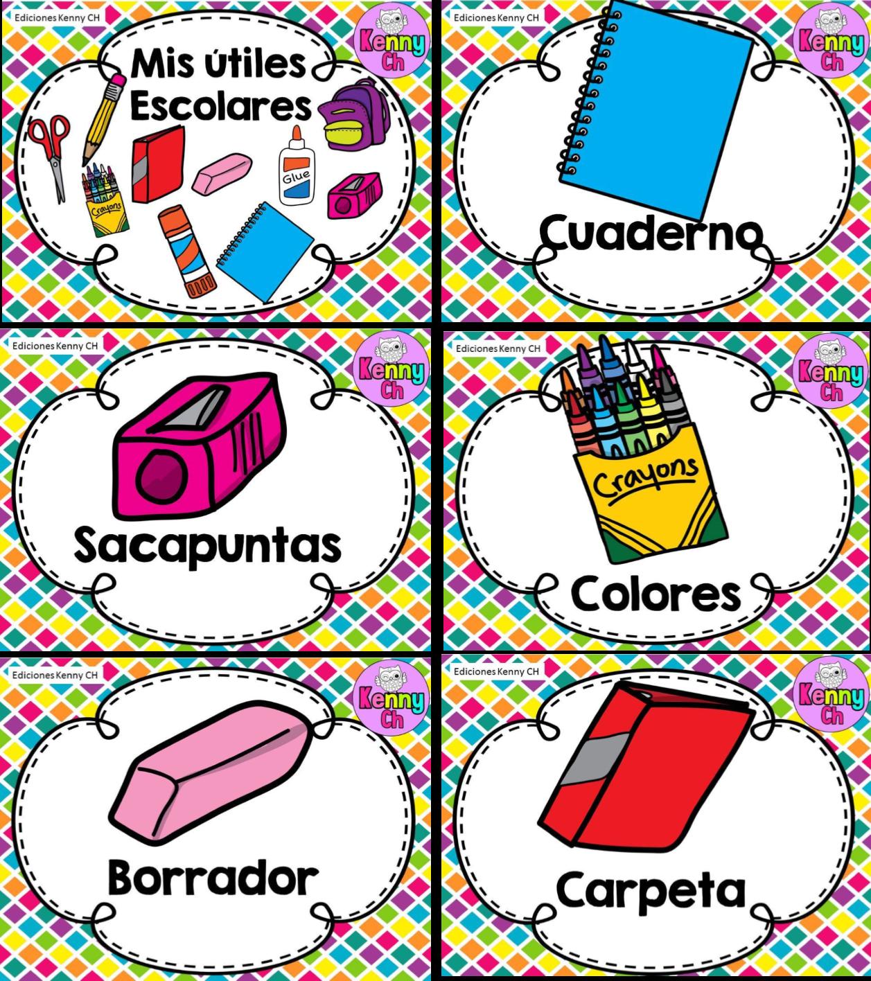 Fabulosos diseños de útiles escolares | Educación Primaria
