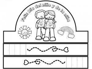 Coronas Para El Día Del Niño Y De La Niña Educación Primaria