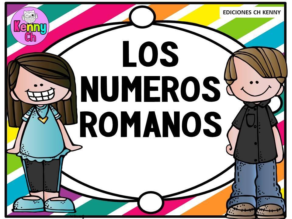 Los números romanos | Educación Primaria