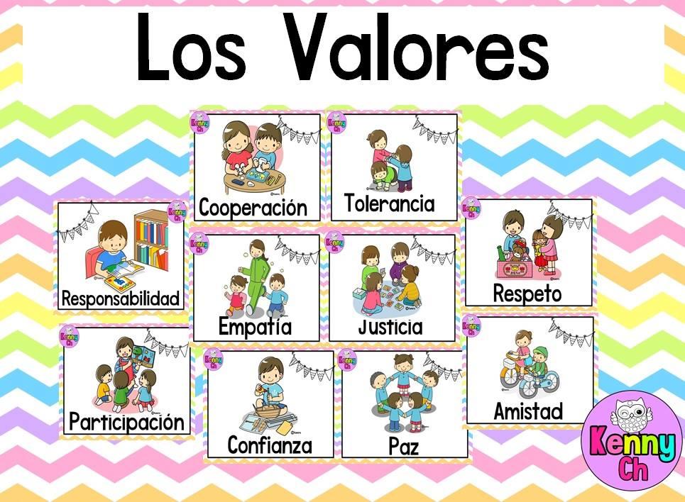 Maravilloso diseño de valores para la escuela primaria | Educación
