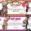 Hermosos diplomas llamativos para el día de las madres