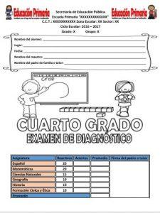 ExamenDiagnosticoCuartoGrado