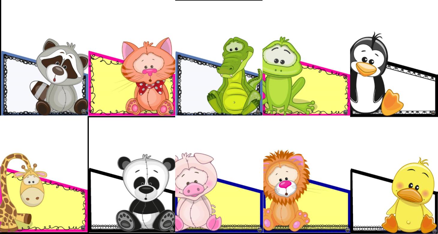 Portadas Para Cuadernos Y Libretas Con DiseÑos Marinos: Fabulosas Portadas De Animalitos Para Folders, Cuadernos