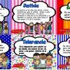 Fabulosos diseños de valores para una sana convivencia en el aula