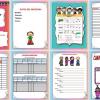 Estupenda agenda escolar editable en WORD para el ciclo escolar 2016 – 2017
