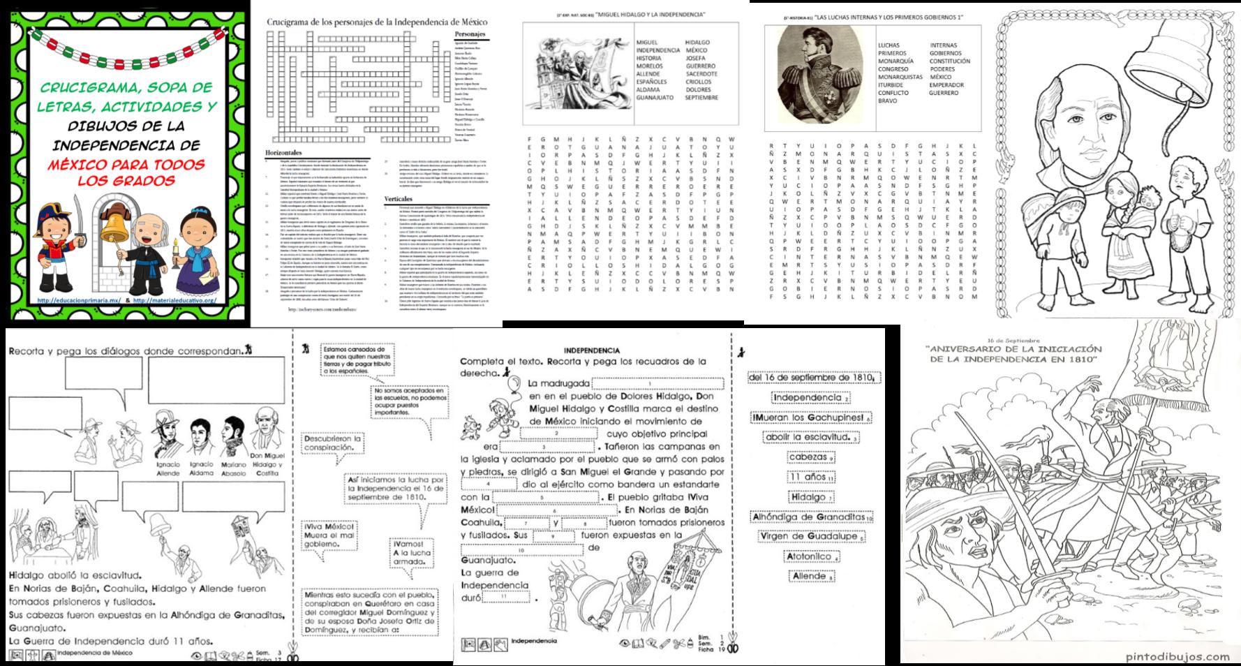 Crucigrama Sopa De Letras Actividades Y Dibujos Para Colorear De