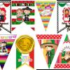 Bonitos diseños para conmemorar el mes patrio, ¡Viva México!
