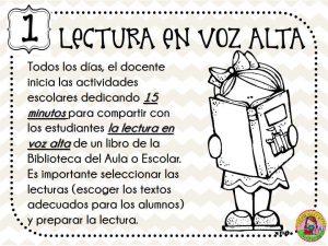 Maravillosas 5 actividades permanentes de lectura en el aula ...