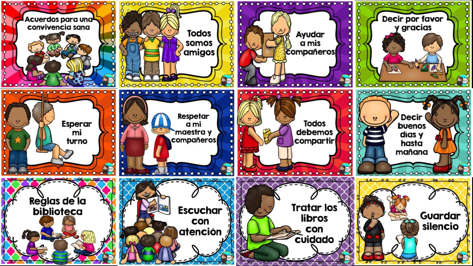 Normas de convivencia para el aula y reglamento de la for Como mantener silencio en un comedor escolar