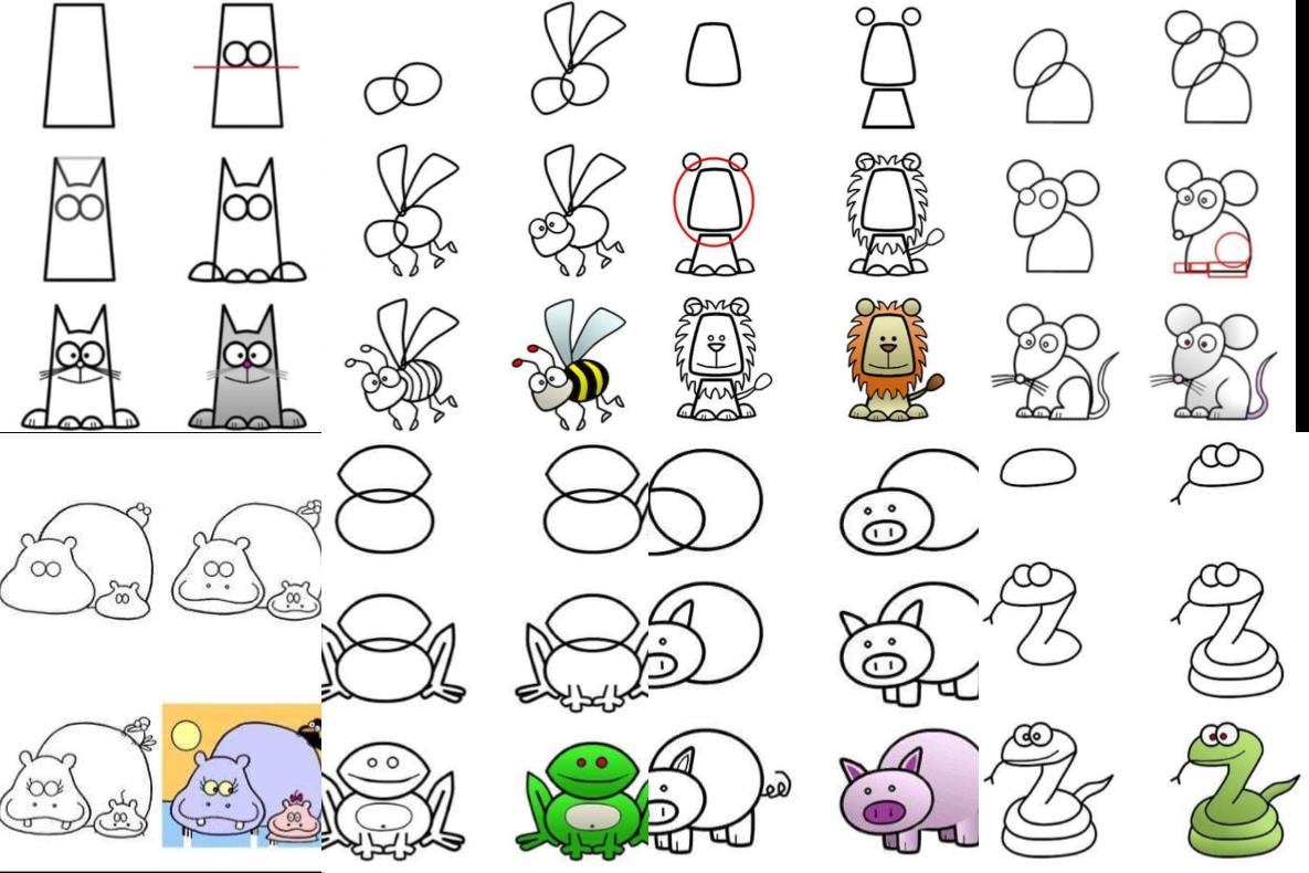 Fascinante material para aprender a dibujar fácilmente ...