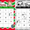 Lindo y útil calendario del mes noviembre