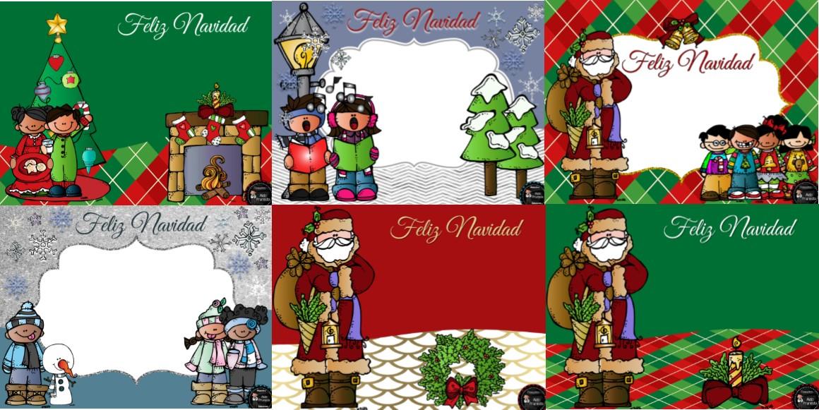 Bonitas tarjetas navide as para editar y regalar - Postales navidenas bonitas ...
