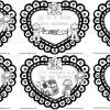 Hermosos diseños creativos para colorear de las efemérides del mes de febrero