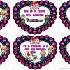 Hermosos y creativos diseños de las efemérides del mes de febrero