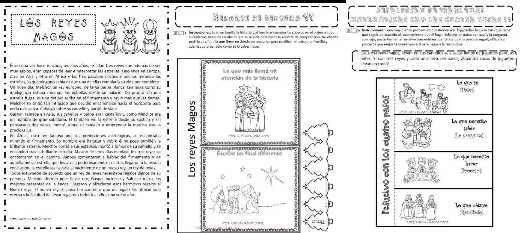 Día De Los Reyes Magos Educación Primaria