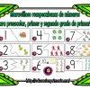 Estupendo rompecabezas de números para preescolar, primer y segundo grado de primaria