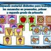 Maravilloso material didáctico para trabajar las secuencias en preescolar, primer y segundo grado de primaria