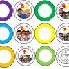 Estupendo material interactivo las ruedas de las multiplicaciones