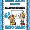 Material didáctico de apoyo del sexto grado del cuarto bloque