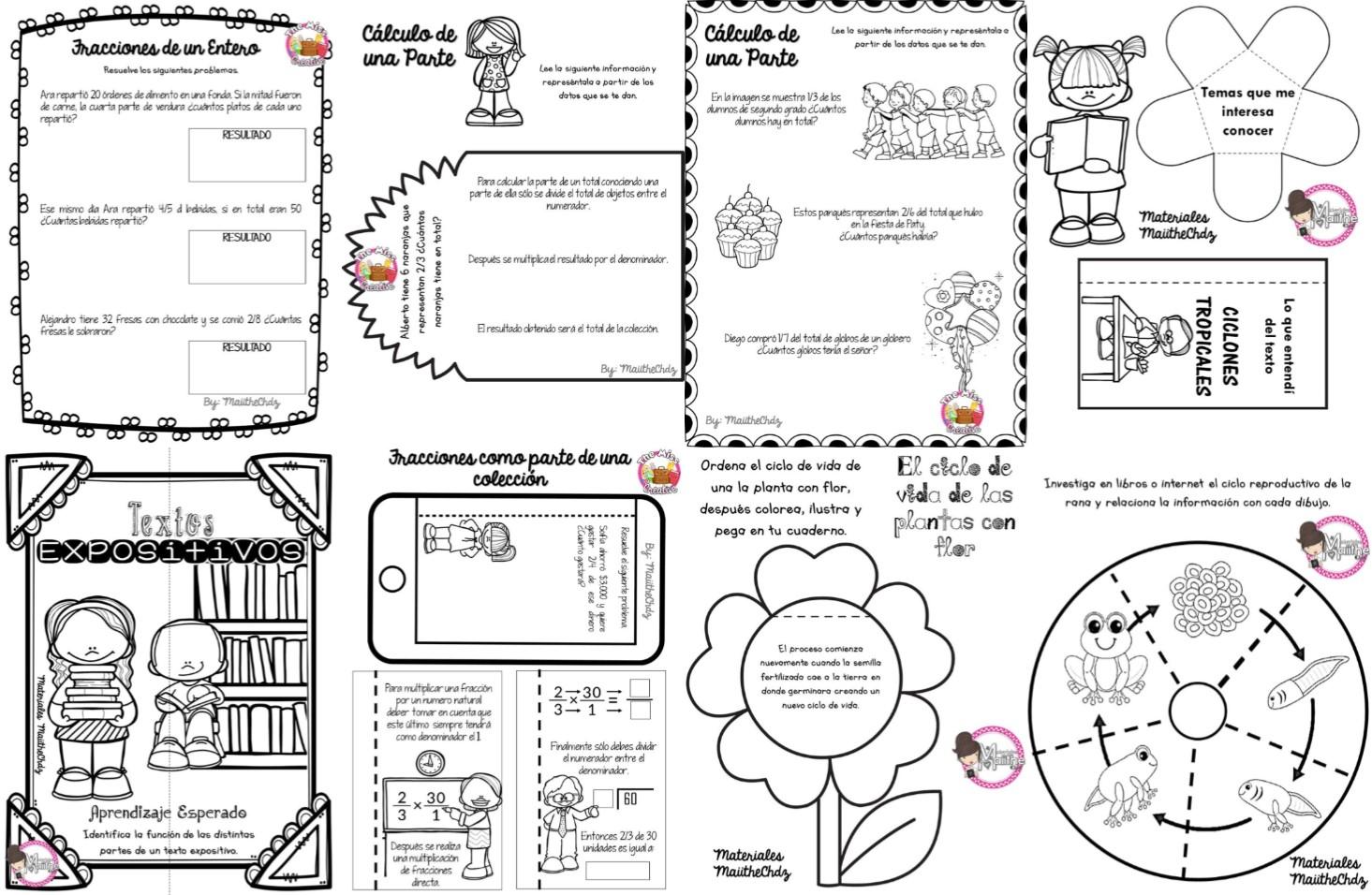 Fant stico material interactivo del cuarto grado para el for Cuarto primaria