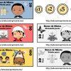 Estupendos y creativos billetes y monedas para aprender jugando