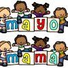 Fabuloso y bonito banner del mes de mayo y del día de las madres