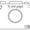 Fabulosa cámara fotográfica interactiva para el día del padre