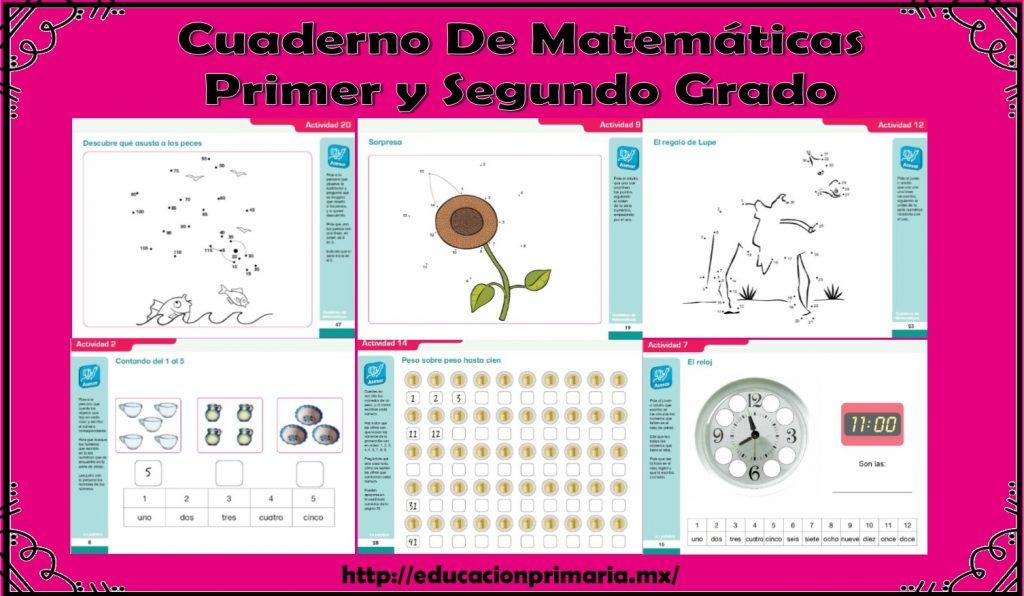 Excelente cuaderno de ejercicios de matemáticas para primer y ...