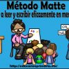 Método Matte: aprender a leer y escribir eficazmente en menos tiempo