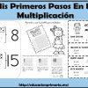 Maravilloso cuaderno interactivo de mis primeros pasos en la multiplicación