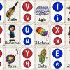 Fabuloso abecedario para imprimir, recortar, plastificar y crear un memorama para preescolar, primer y segundo grado de primaria
