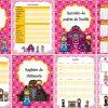 Fantástica y hermosa agenda escolar de cenicienta para el ciclo escolar 2017 – 2018 editable en WORD
