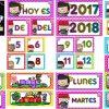 Espectacular calendario móvil para el ciclo escolar 2017 – 2018