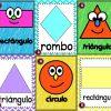 Fantásticos y bonitos diseños de figuras geométricas para preescolar, primer y segundo grado de primaria