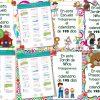 Mamparas del calendario de 195 día para el ciclo escolar 2017 – 2018